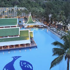 Отель Le Meridien Phuket Beach Resort бассейн фото 3