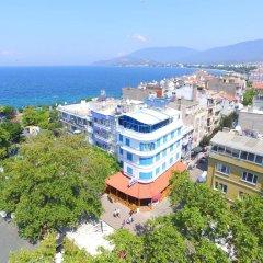 Отель Mavi Inci Park Otel пляж