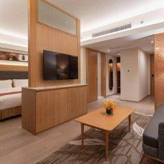 Отель Holiday Inn Shanghai Hongqiao Central комната для гостей фото 2