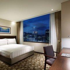 Отель Lotte City Hotel Myeongdong Южная Корея, Сеул - 2 отзыва об отеле, цены и фото номеров - забронировать отель Lotte City Hotel Myeongdong онлайн комната для гостей