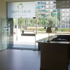 Отель Aura Park Fira Barcelona интерьер отеля фото 2