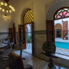Отель Palais d'Hôtes Suites & Spa Fes Марокко, Фес - отзывы, цены и фото номеров - забронировать отель Palais d'Hôtes Suites & Spa Fes онлайн фитнесс-зал