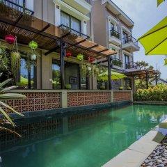 Отель Hoi An Silk River Villa бассейн фото 3