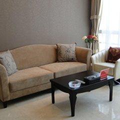 Отель Guangzhou Grand View Golden Palace Apartment Китай, Гуанчжоу - отзывы, цены и фото номеров - забронировать отель Guangzhou Grand View Golden Palace Apartment онлайн комната для гостей фото 4