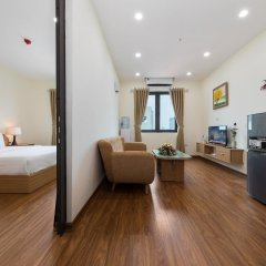 Апартаменты Granda Quan Hoa Apartment комната для гостей фото 2