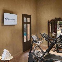 Отель H10 Casa Mimosa фитнесс-зал
