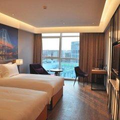 Отель Mercure Shanghai Hongqiao Railway Station комната для гостей фото 4