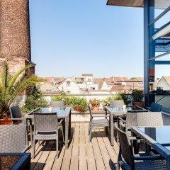 Отель Ghent River Hotel Бельгия, Гент - отзывы, цены и фото номеров - забронировать отель Ghent River Hotel онлайн балкон