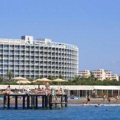 Kervansaray Kundu Beach Hotel Турция, Кунду - 5 отзывов об отеле, цены и фото номеров - забронировать отель Kervansaray Kundu Beach Hotel онлайн приотельная территория