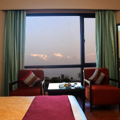 Отель Pokhara Grande Непал, Покхара - отзывы, цены и фото номеров - забронировать отель Pokhara Grande онлайн комната для гостей фото 4