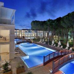 Bellis Deluxe Hotel Турция, Белек - 10 отзывов об отеле, цены и фото номеров - забронировать отель Bellis Deluxe Hotel онлайн бассейн фото 2