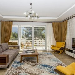 Luxury Villa 1 with Private Pool Турция, Олудениз - отзывы, цены и фото номеров - забронировать отель Luxury Villa 1 with Private Pool онлайн комната для гостей фото 5