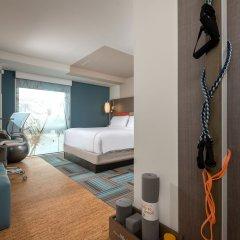 Отель Even Brooklyn Нью-Йорк фитнесс-зал фото 3