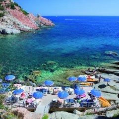 Отель Arbatax Park Resort Borgo Cala Moresca пляж