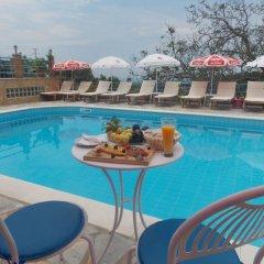 Отель Itaka Hotel Албания, Химара - отзывы, цены и фото номеров - забронировать отель Itaka Hotel онлайн бассейн