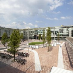 Отель Hampton by Hilton Amsterdam/Arena Boulevard Нидерланды, Амстердам - 2 отзыва об отеле, цены и фото номеров - забронировать отель Hampton by Hilton Amsterdam/Arena Boulevard онлайн балкон