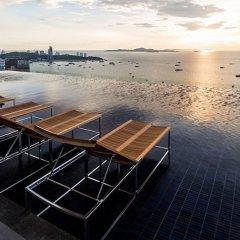 Отель 1Br Centric Sea 115 With Infinity Pool Паттайя бассейн