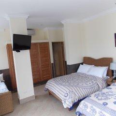 Отель Dharma Beach комната для гостей
