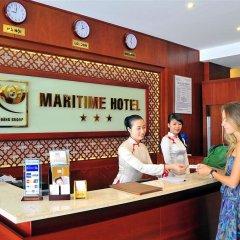 Отель Maritime Hotel Nha Trang Вьетнам, Нячанг - отзывы, цены и фото номеров - забронировать отель Maritime Hotel Nha Trang онлайн интерьер отеля