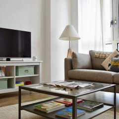 Апартаменты Modern 1 Bedroom Apartment in Greenwich комната для гостей фото 3
