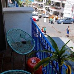 Hotel Petit Mercedes Puerto Vallarta балкон