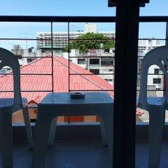Отель April Suites Pattaya Паттайя балкон