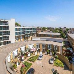 Апартаменты Lovely Studio W/balcony in Islington, 4 Guests балкон