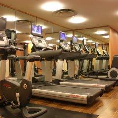 Отель Crowne Plaza London - The City Великобритания, Лондон - отзывы, цены и фото номеров - забронировать отель Crowne Plaza London - The City онлайн фитнесс-зал фото 3