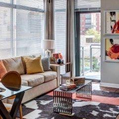 Отель Global Luxury Suites at Woodmont Triangle North США, Бетесда - отзывы, цены и фото номеров - забронировать отель Global Luxury Suites at Woodmont Triangle North онлайн комната для гостей фото 4