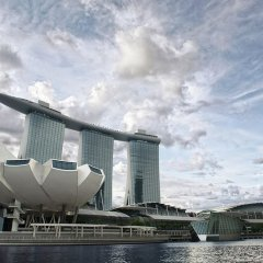 Отель Marina Bay Sands парковка