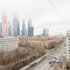 Апартаменты Брусника Выставочная Москва балкон