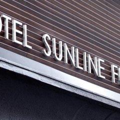 Отель Sunline Hakata Ekimae Хаката балкон