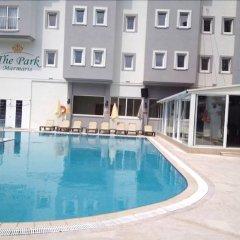 Blue Park Hotel Турция, Мармарис - отзывы, цены и фото номеров - забронировать отель Blue Park Hotel онлайн бассейн фото 2