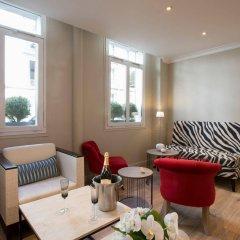 Отель Elysees Opera Франция, Париж - отзывы, цены и фото номеров - забронировать отель Elysees Opera онлайн комната для гостей фото 3