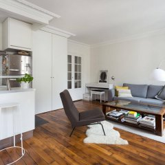 Отель onefinestay - Parc Monceau Apartments Франция, Париж - отзывы, цены и фото номеров - забронировать отель onefinestay - Parc Monceau Apartments онлайн комната для гостей фото 4