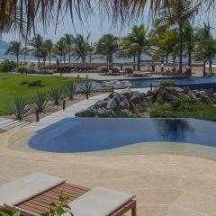 Отель Las Palmas Resort & Beach Club Мексика, Коакоюл - отзывы, цены и фото номеров - забронировать отель Las Palmas Resort & Beach Club онлайн бассейн фото 2
