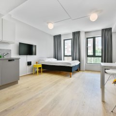 Апартаменты Forenom Serviced Apartments Oslo Majorstuen в номере