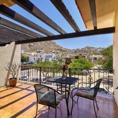 Отель San Angel Suites Педрегал балкон