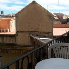 Hotel Toledano Ramblas Барселона балкон