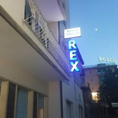 Hotel Rex Кьянчиано Терме вид на фасад