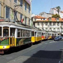 Отель Pensao Praca Da Figueira Лиссабон городской автобус