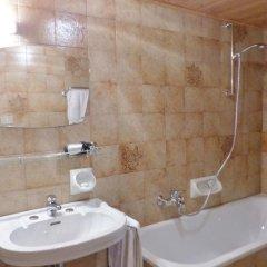 Отель Berghotel Franzenshöhe Стельвио ванная