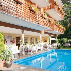 Отель Aster Италия, Меран - отзывы, цены и фото номеров - забронировать отель Aster онлайн бассейн