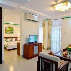Отель Green Hotel Вьетнам, Вунгтау - отзывы, цены и фото номеров - забронировать отель Green Hotel онлайн комната для гостей фото 3