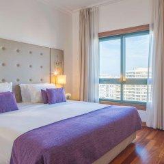 Отель NH Lisboa Campo Grande комната для гостей фото 4