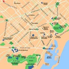Отель Exe Mitre Барселона городской автобус