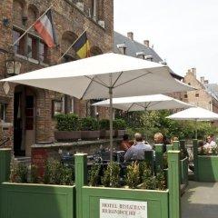 Отель Bourgoensch Hof Бельгия, Брюгге - 3 отзыва об отеле, цены и фото номеров - забронировать отель Bourgoensch Hof онлайн питание