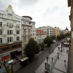 Hostel Ananas Прага балкон