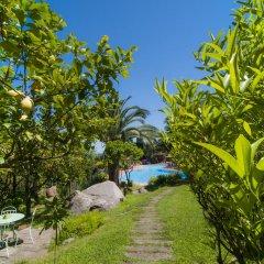 Hotel Cernia Isola Botanica Марчиана приотельная территория