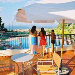 Отель Atrium Hotel Греция, Пефкохори - отзывы, цены и фото номеров - забронировать отель Atrium Hotel онлайн балкон